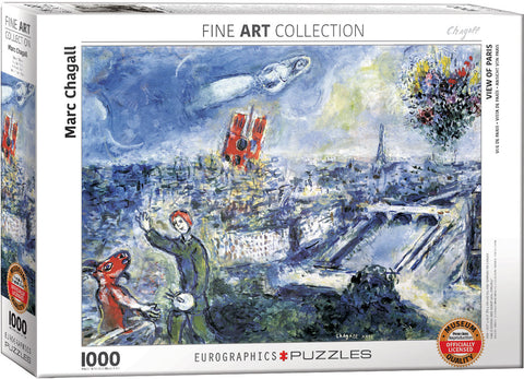 Le Bouquet de Paris 1000pc Puzzle