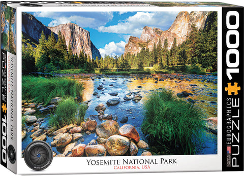 Yosemite National Park 1000pc Puzzle