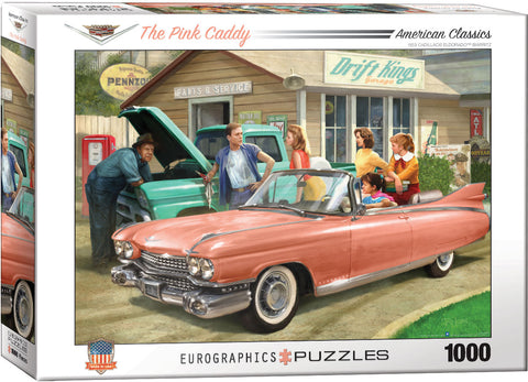 The Pink Caddy 1000pc Puzzle