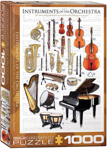 Instruments of the Orchestra 1000pc Puzzle