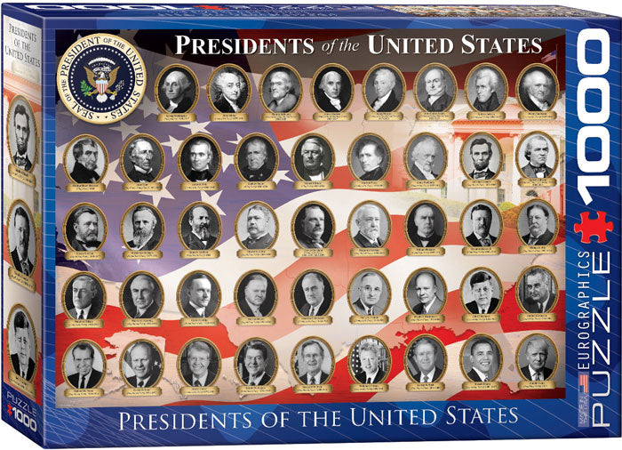 US Presidents 1000pc Puzzle