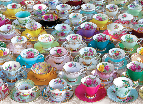 Tea Cup Collection 1000pc Puzzle