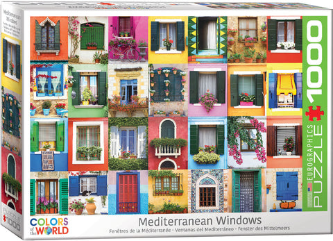 Mediterranean Windows 1000pc Puzzle