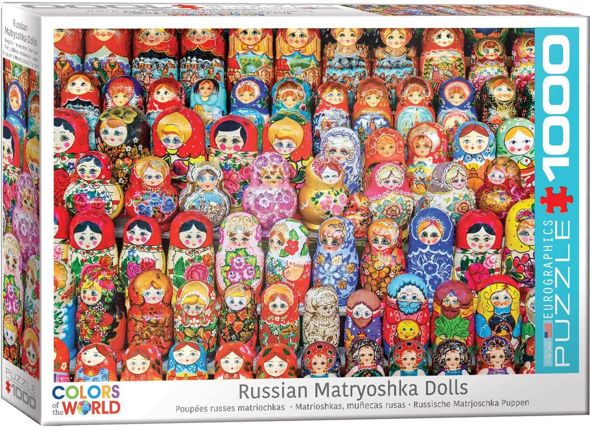 Russian Matryoshka Doll 1000pc Puzzle