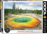 Morning Glory Pool 1000pc Puzzle