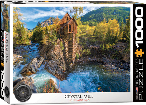 Crystal Mill 1000pc Puzzle