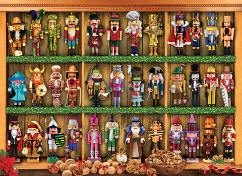 Nutcracker Christmas 1000pc Puzzle