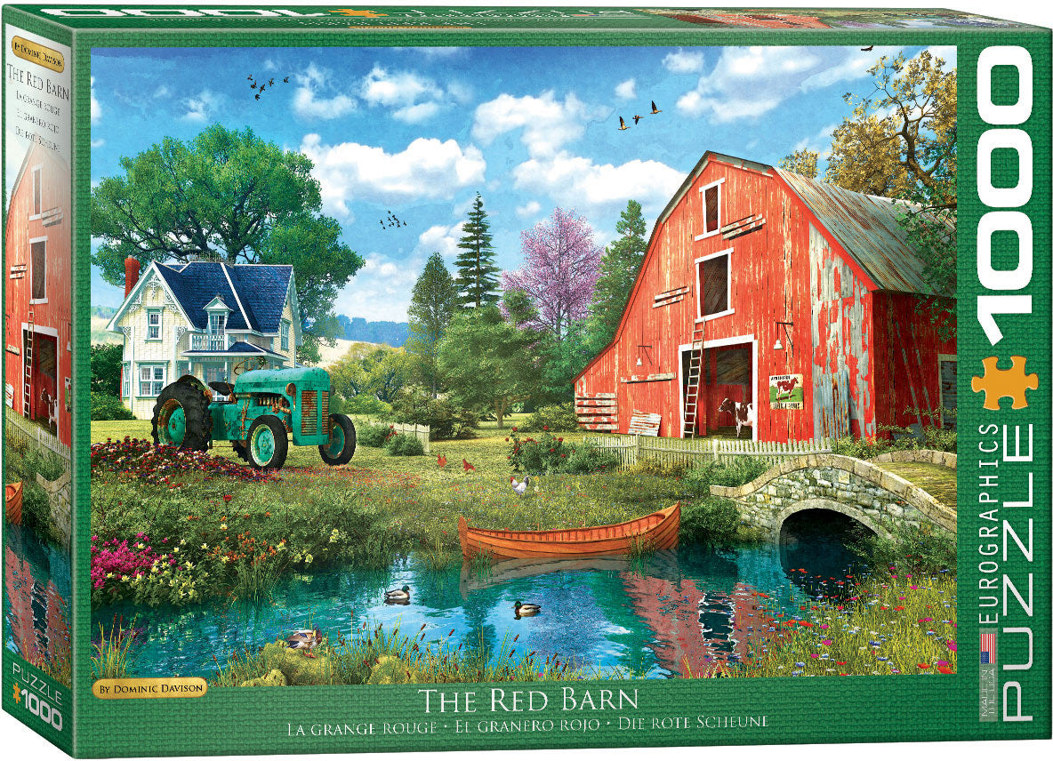 The Red Barn 1000pc Puzzle