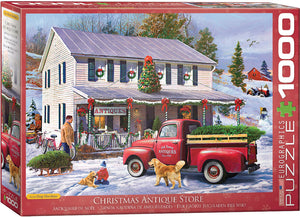 Antique Christmas Store 1000pc Puzzle