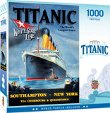 Titanic White Star Line 1000pc Puzzle