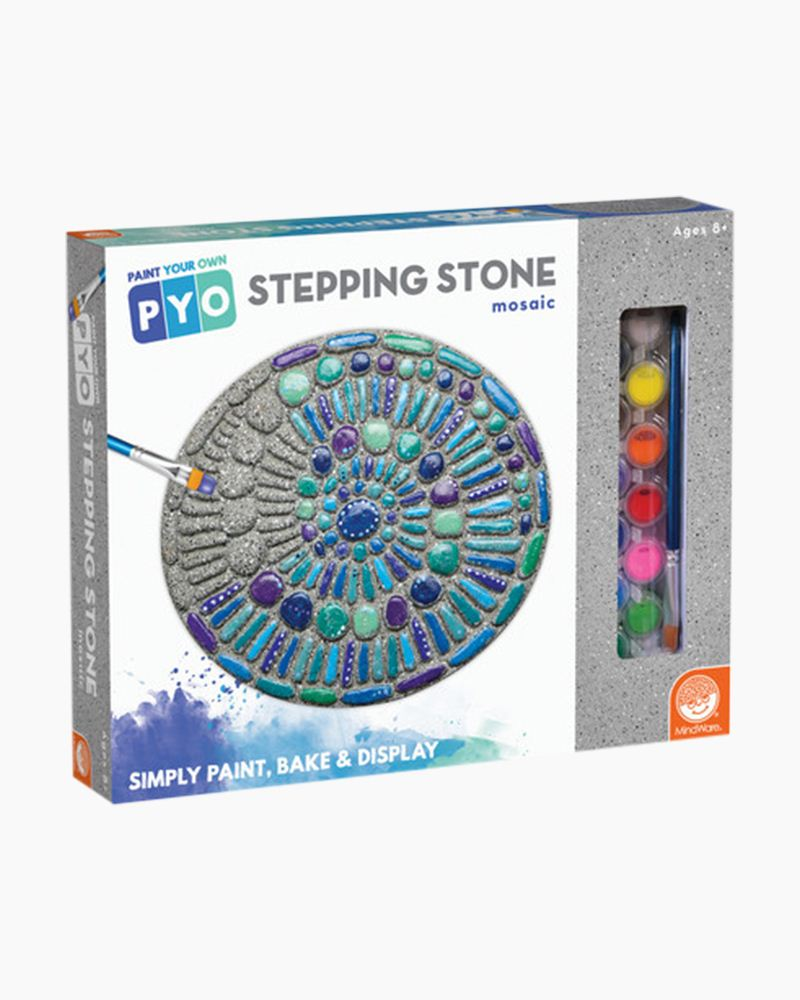 Paint Your Own Mosaic Stepping Stone