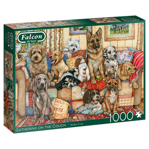 Gathering on the Couch 1000pc Puzzle