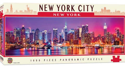 New York Panoramic 1000pc Puzzle