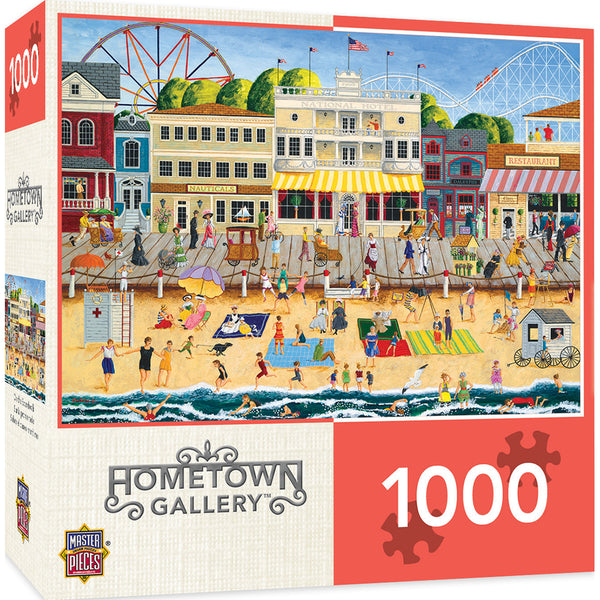 On the Boardwalk 1000pc Puzzle