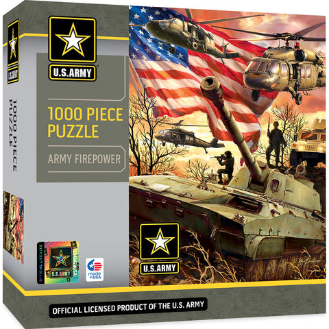 US Army Firepower 1000pc Puzzle