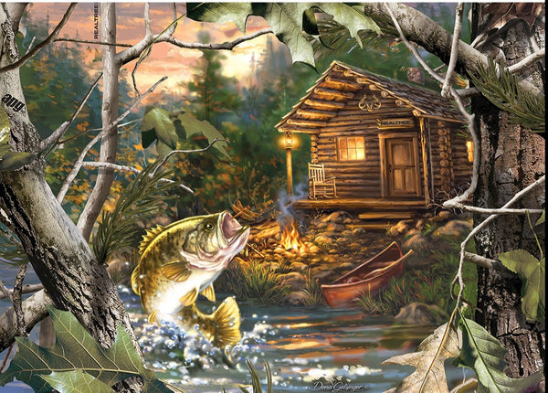 Realtree The One That Got Away 1000pc Puzzle