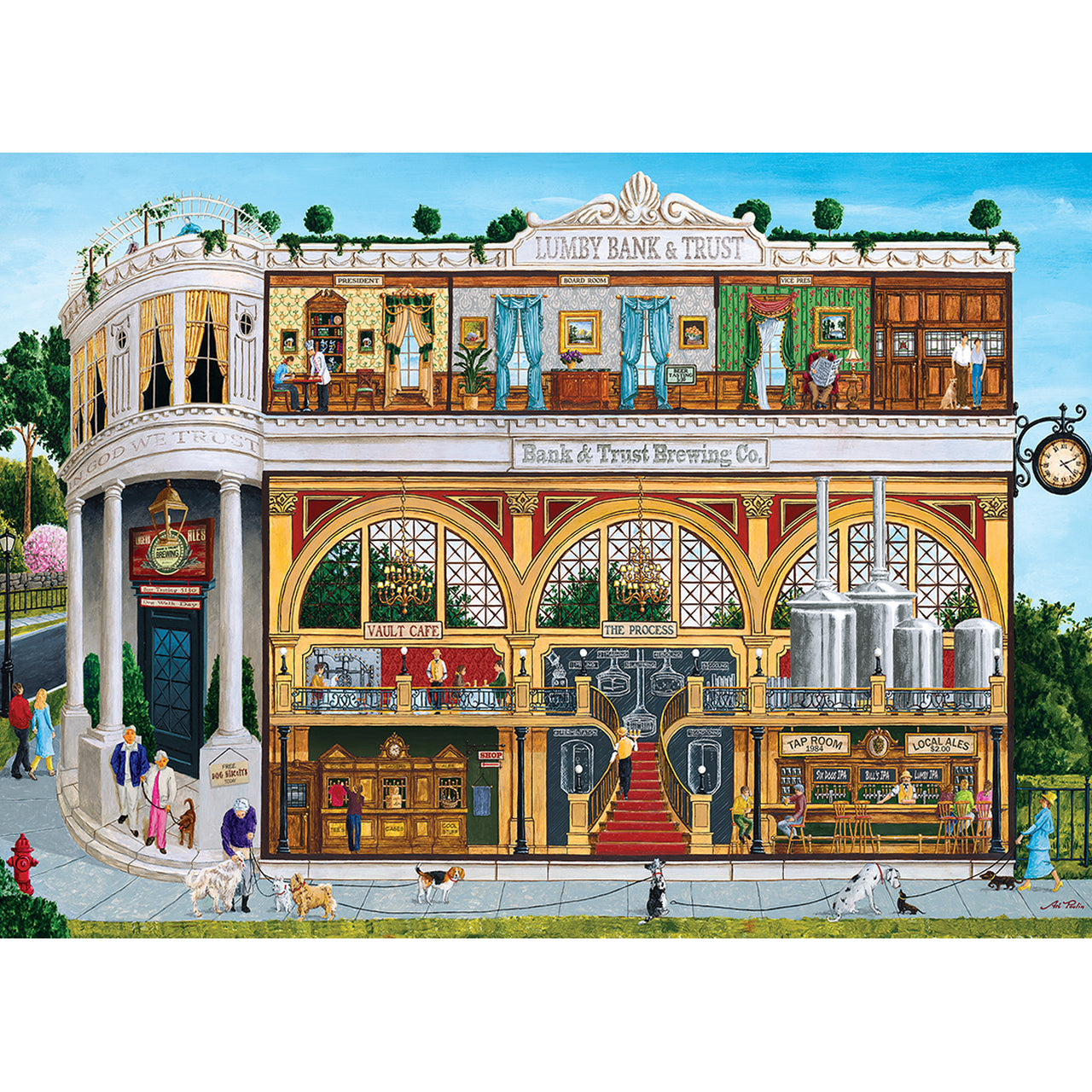 B&T Brewing Company 1000pc Puzzle