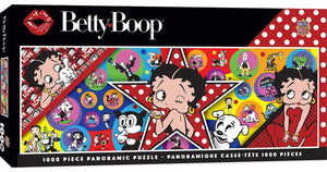 Betty Boop Panoramic 1000pc Puzzle