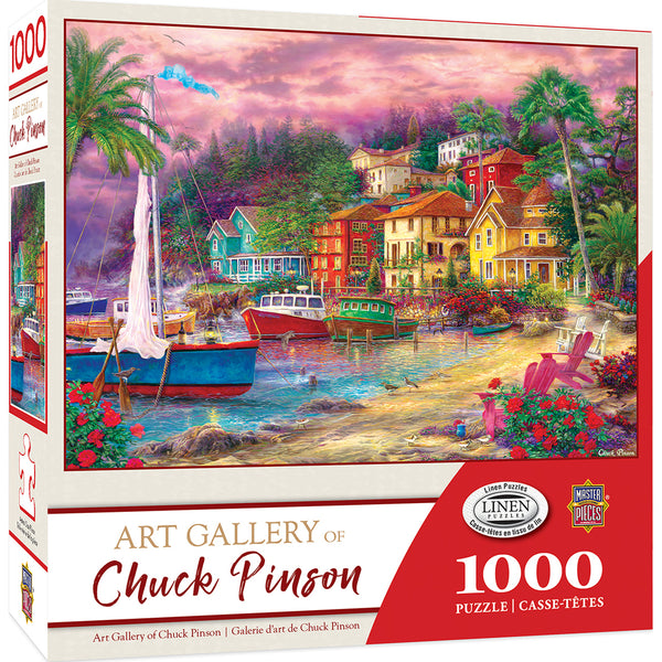 On Golden Shores 1000pc Puzzle