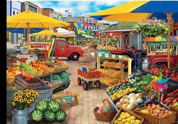 Market Square 1000pc Puzzle
