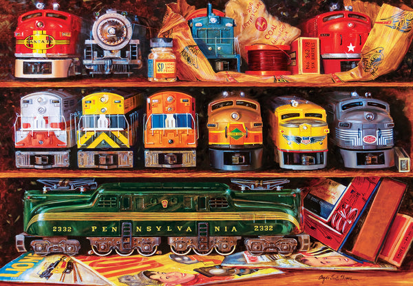 Well Stocked Shelves Lionel Trains 2000pc Puzzle