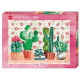 Cactus Family Lovely Times 1000pc Puzzle