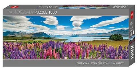 Lake Tekapo 1000pc Panoramic Puzzle