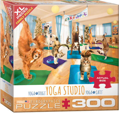 Yoga Studio 300pc XL Piece Puzzle