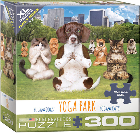Yoga Park 300pc XL Piece Puzzle