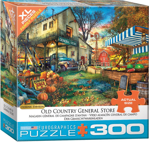 Old Country General Store 300pc XL Piece Puzzle