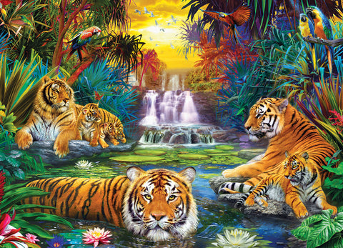 Tiger's Eden 500pc Puzzle