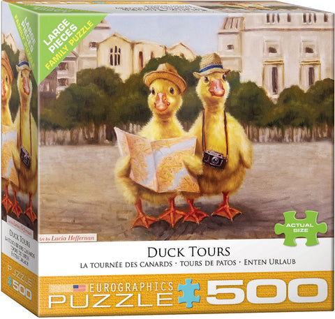 Duck Tours 500pc Large Piece Puzzle
