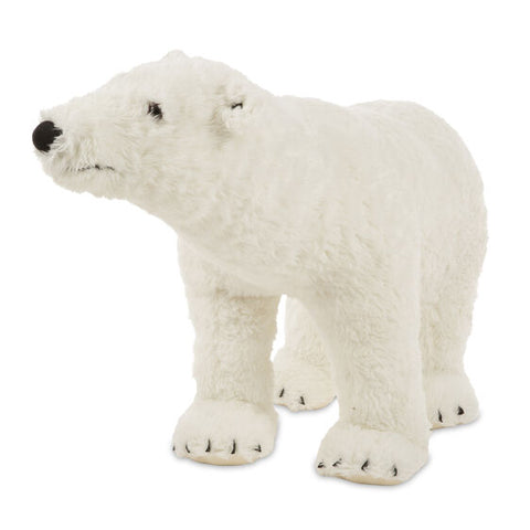 Polar Bear Lifelike Giant Plush