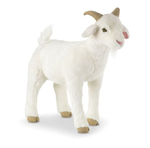 Lifelike Plush Goat