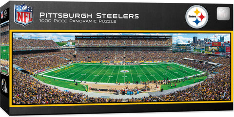 Pittsburgh Steelers 1000pc Panoramic Puzzle