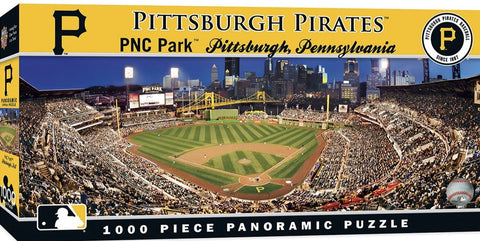 Pittsburgh Pirates 1000pc Panoramic Puzzle