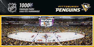 Pittsburgh Penguins 1000pc Panoramic Puzzle