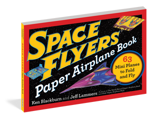 Space Flyers Paper Airplane Book