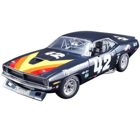 1/18 1970 Plymouth Barracuda Trans Am  #42 Swede Savage