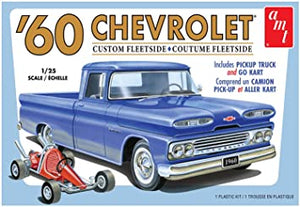 AMT 1/25 1960 Chevy Fleetside Pickup w/Go Kart 2T