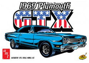 AMT 1/25 1969 Plymouth GTX Dirty Donny
