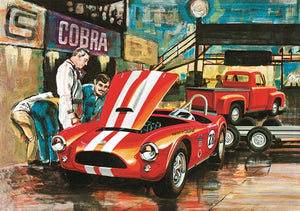 AMT 1/25 Cobra Racing Team Shelby & 1953 Ford Pickup & Trailer