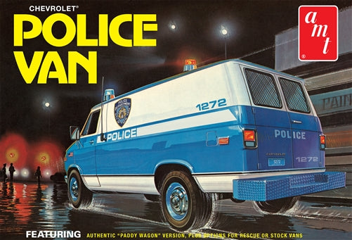 AMT 1/25 Chevy Police Van, NYPD