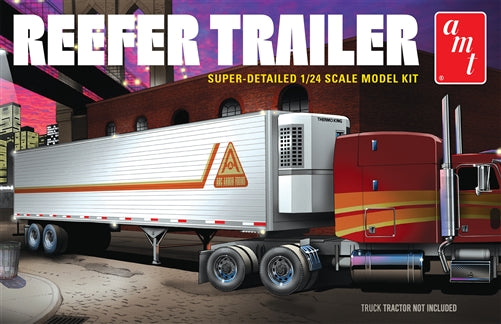 AMT 1/24 Reefer Semi Trailer