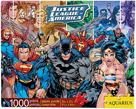 DC Justice League 1000pc Puzzle