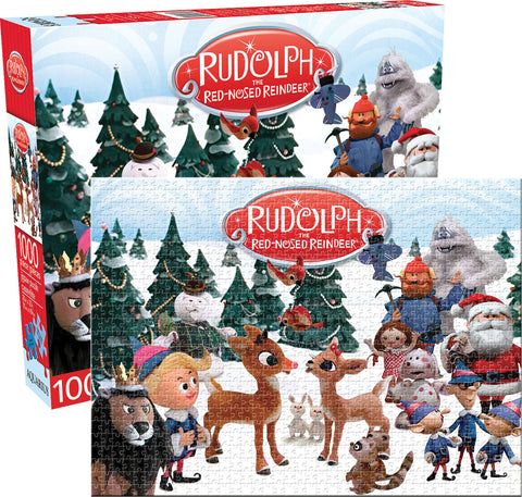 Rudolph Red-Nose Reindeer 1000pc Puzzle