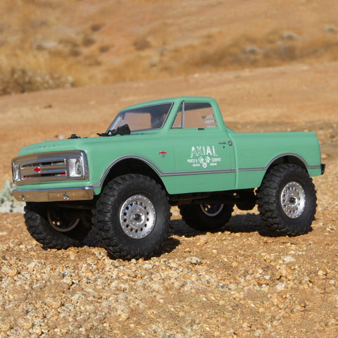 1/24 SCX24 1967 Chevrolet C10 4WD RTR Light Green