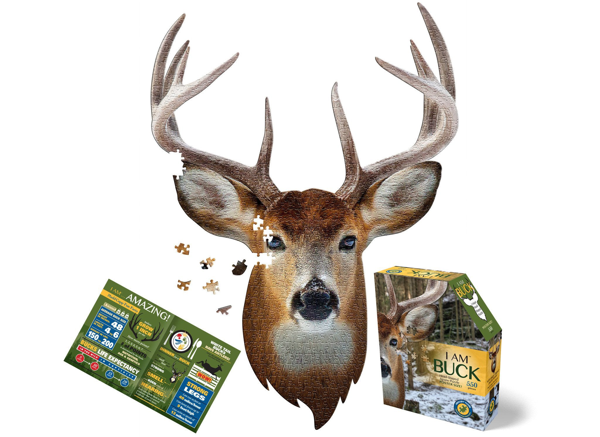 I Am Buck 550pc Puzzle