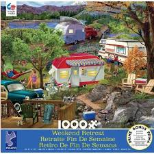 Camping Weekend Retreat 1000PC Jigsaw Puzzle
