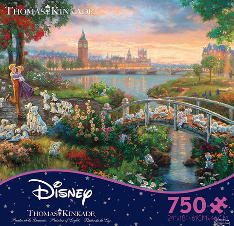 Thomas Kinkade Disney 101 Dalmations 750pc Puzzle
